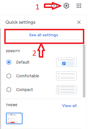 See All Setting In Gmail
