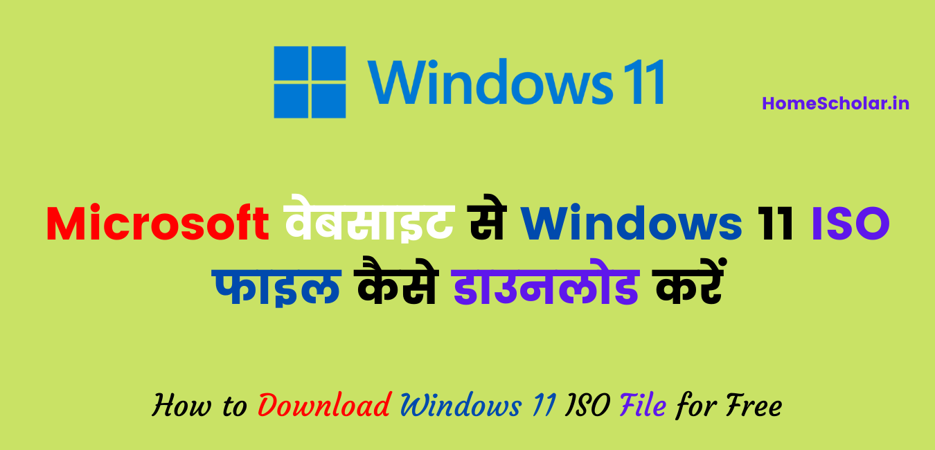 Windows 11 ISO File Download